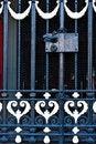 Free Steel Door Handle With Lock Stock Images - 23653654