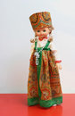 Free Doll In Russian National Suit Royalty Free Stock Photography - 23659177