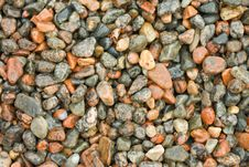 Free Wet Pebbles. Stock Images - 23653284