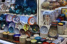 Free The Turkish Porcelain Object Royalty Free Stock Photo - 23654055