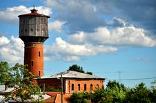 Free Water Tower Royalty Free Stock Photos - 23657138