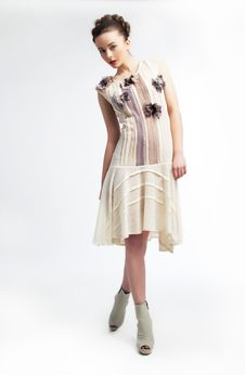 Free Beautiful Fashionable Young Pretty Girl Stock Photos - 23658433