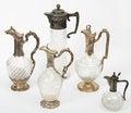 Free Antiquarian Jugs Royalty Free Stock Image - 23661206