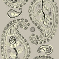 Free Paisley Doodle Stock Images - 23667014