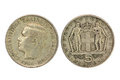 Free Old Greek 5 Drachmas Coin From 1966 Stock Images - 23667714