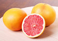 Free Fresh Red Grapefruit Royalty Free Stock Images - 23669869