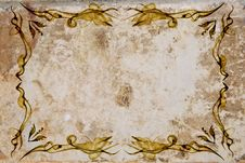 Old Paper Frame Royalty Free Stock Photo