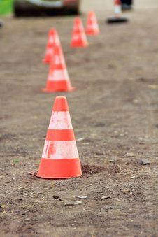 Free Traffic Cones Stock Photos - 23661243