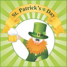 St. Patrick S Day Cartoon Vector Royalty Free Stock Photos