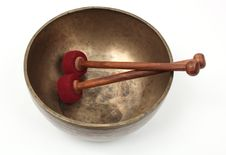 Free Tibetan Singing Bowl Stock Photos - 23661683