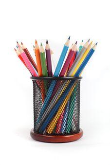 Free Colour Pencils Stock Images - 23661894