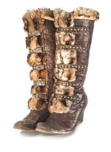 Womens Boots Stock Images