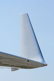 Free Aircraft Winglet Royalty Free Stock Image - 23667856