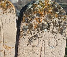 Free The Old Headstone In Greek Village Sille. Royalty Free Stock Photography - 23669477