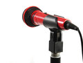 Free Microphone On Stand Royalty Free Stock Images - 23676539