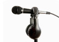 Free Microphone On Stand Royalty Free Stock Image - 23676556