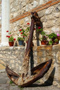Free Old Anchor. Bulgaria. Nessrbar. Stock Image - 23677071
