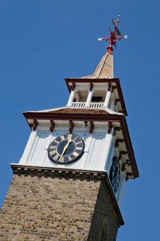 Free Clocktower, Harlow, Essex, England Royalty Free Stock Images - 23671619