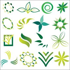 Green Ecological Logos