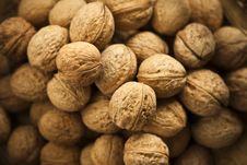 Free Group Of Walnuts Royalty Free Stock Images - 23675489