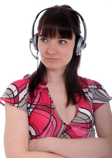 Free Call Centre Assistant Royalty Free Stock Image - 23677686