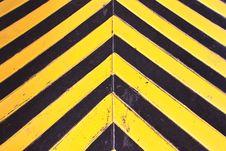 Free Hazard Stripes Texture Stock Photos - 23678243