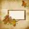 Free Vintage Background With Old Frame And Flowers Stock Photos - 23677893