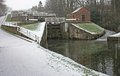 Free Canal Locks. Royalty Free Stock Photo - 23684115