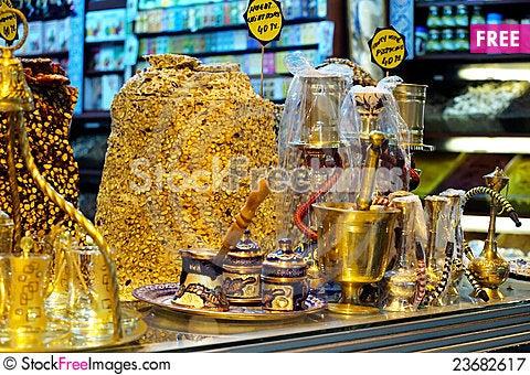 Free Spice Bazaar Royalty Free Stock Photography - 23682617