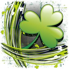 Free St Patrick S Day Clover Royalty Free Stock Photo - 23682785