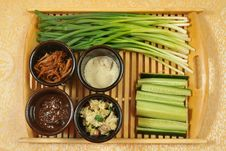 Free Chinese Appetizers Stock Photo - 23683530
