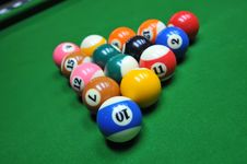 Free Billiards Royalty Free Stock Image - 23683656