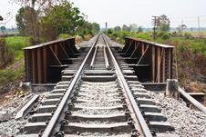 Free The Railroad Bridge. Stock Photography - 23684082