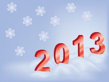 Free New Year 2013 Stock Photography - 23684992