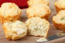 Free Buttered Biscuits Stock Photos - 23687063