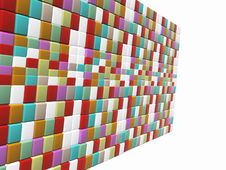 Free Mosaic Wall Royalty Free Stock Photos - 23689388