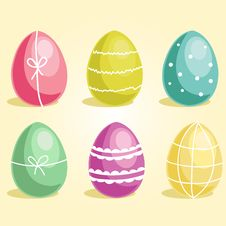 Free Easter Eggs Stock Image - 23689501