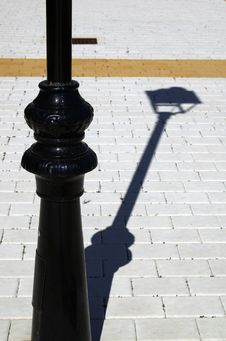Free Street Light And Shadow Stock Image - 23689711