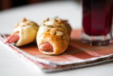 Free Sausage Roll Stock Image - 23689821