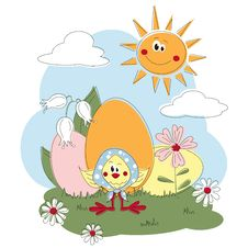 Free Easter Greeting Card Stock Image - 23689991