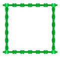 Free Green Square Frame Stock Image - 23690221