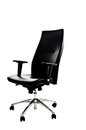 Free Office Black Armchair Royalty Free Stock Photography - 23694107