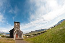 Stone Church In The Coutry Royalty Free Stock Photo