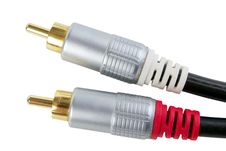 Free Rca Connectors Stock Image - 23691711