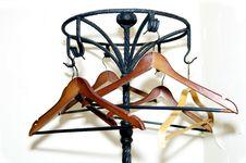 Free Hangers Royalty Free Stock Photo - 23692085