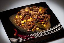 Free Chili Con Carne Stock Image - 23694921
