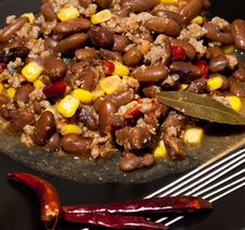 Free Chili Con Carne Royalty Free Stock Image - 23694926