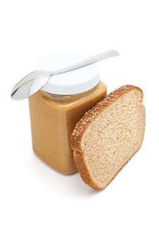 Free Jar Of Peanut Butter Stock Photos - 23695443