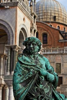 Free Statue San Marco Venice Stock Image - 23697251