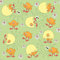 Free Easter Pattern Seamless Stock Photo - 23690030
